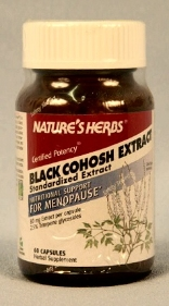 BLACK COHOSH EXTRACT, 60 vcaps, 300 mg