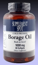 Borage Oil, 90 softgels, 1000 mg
