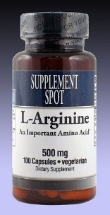 L-Arginine, 100 vegicaps, 500 mg