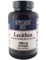 Lecithin, 120 softgels, 1200 mg