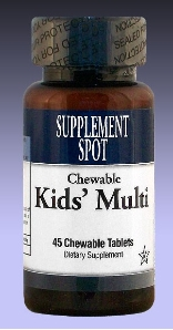Kid's Chewable Multi-Vitamins, 45 tablets