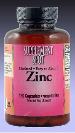 Zinc, 120 vegicaps, 15 mg