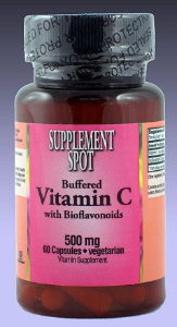 Buffered Vitamin C, 500 mg, 60 v caps