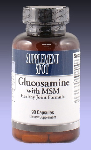 Glucosamine with MSM, 90 capsules