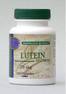 LUTEIN, 120 capsules, 20 mg