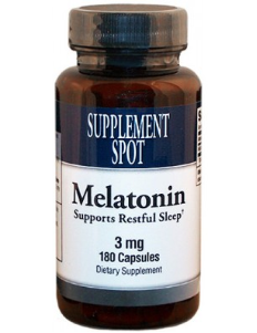 Melatonin, 180 tablets, 3 mg