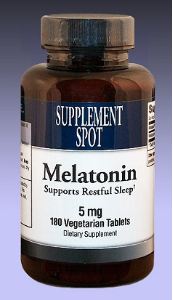 Melatonin, 180 tablets, 5 mg
