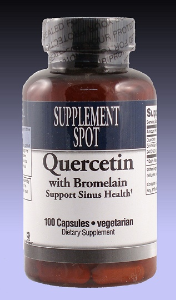 Quercetin with Bromelain, 100 vegicaps