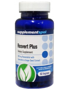 Resvert Plus, 60 capsules, 250 mg