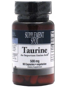 Taurine, 60 vegicaps, 500 mg